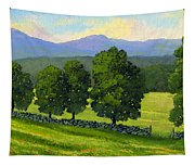 Distant Mountains Tapestry