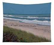 Distant Pier Tapestry