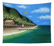 Distant Shores Tapestry
