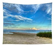 Distant Thunderhead Tapestry