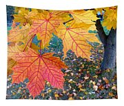 Distinctive Maple Leaves Tapestry