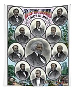 Distinguished Colored Men Tapestry