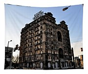 Divine Lorraine Hotel Tapestry