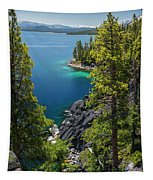 Dl Bliss Lookout By Brad Scott Tapestry
