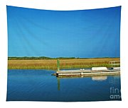 Dock And Marshes Tapestry