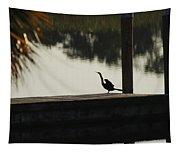 Dock Bird In Color Tapestry