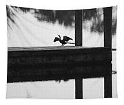 Dock Bird Pre Flight Tapestry