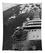 Dockside In Skagway Tapestry