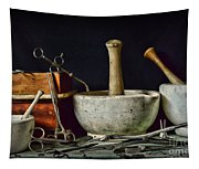 Doctor All Those Medical Instruments Tapestry