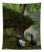 Dodos In The Forest Tapestry