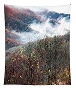 Doe On Autumn Ridge Tapestry