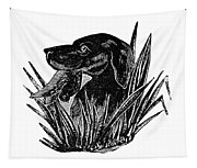 Dog, 19th Century Tapestry
