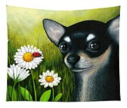Dog 79 Chihuahua Tapestry