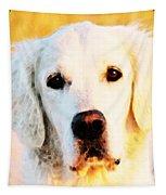 Dog Art - Golden Moments Tapestry