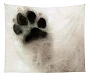 Dog Art - I Paw You Tapestry