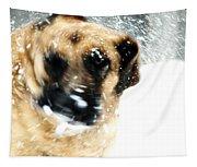 Dog Blizzard - German Shepherd Tapestry