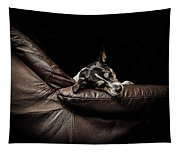 Dog Tired Tapestry