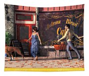 Dog Walkers Tapestry