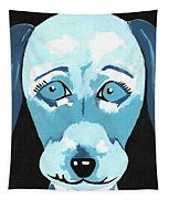 Doggie Blues Tapestry