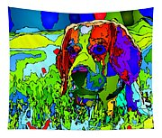 Dogs Can See In Color Tapestry