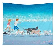Dogs Day Out Tapestry