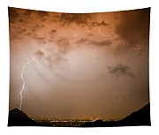 Dome Of Lightning Tapestry