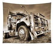 Done Hauling - Sepia Tapestry