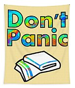 Don't Panic Tapestry