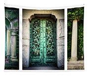 Doorways Of Woodlawn Tapestry