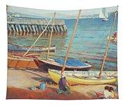 Dory Beach Tapestry
