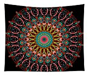 Dotted Wishes No. 4 Mandala Tapestry