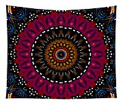 Dotted Wishes No. 5 Kaleidoscope Tapestry