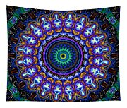 Dotted Wishes No. 7 Kaleidoscope Tapestry