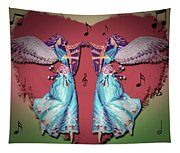 Double Angel Tapestry