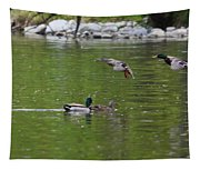 Double Duck Landing Tapestry