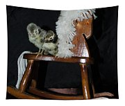 Double Seat Rocking Horse Tapestry