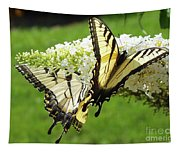 Double The Pleasure - Eastern Tiger Swallowtails Tapestry