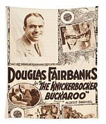 Douglas Fairbanks In The Knickerbocker Buckaroo 1919 Tapestry