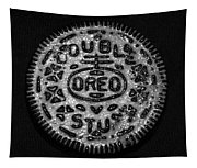 Doulble Stuff Oreo In Black And White Tapestry