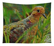 Dove Painterly Tapestry