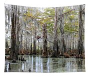 Down On The Bayou - Digital Painting Tapestry