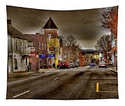Down Town Lexington Va Tapestry