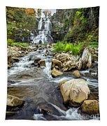 Downstream From Chittenango Falls Tapestry