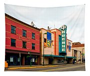 Downtown Anchorage Alaska Tapestry
