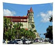 Downtown St Augustine Tapestry