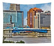 Downtown Toledo Riverfront Tapestry