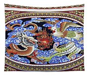Dragon And Bird Tapestry