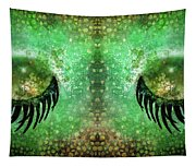 Dragon Eyes At Dawn Tapestry