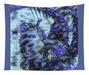 Dragon Flower Tapestry