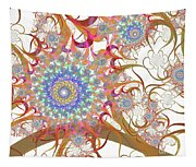Dragon Flowers. Tapestry